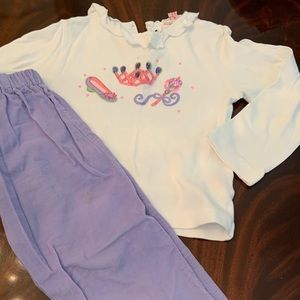 Winter top and pant set